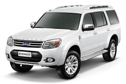 Ford Everest 2013 tạo cảm giác năng động và gọn gàng
