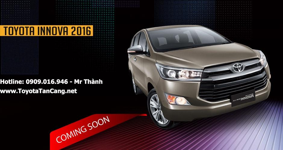 Toyota Innova 2016 sẽ chính thức có mặt tại Việt Nam vào tháng 07