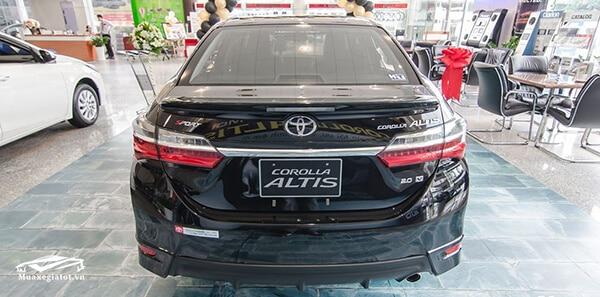 toyota corolla altis 2018  dgx2157 141318 muaxegiatot vn - Giá xe Toyota Altis 2021 trả góp lăn bánh tại TpHCM - Muaxegiatot.vn