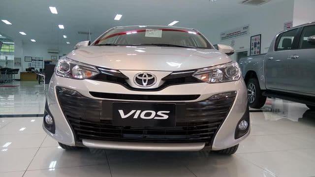 """Toyota Vios 2019 đầu xe - Toyota Vios 2019 sắp ra mắt, cơ hội thoát mác """"thùng tôn di động"""" - Muaxegiatot.vn"""