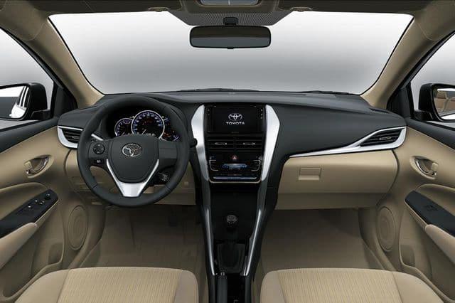 """Toyota Vios 2019 taplo - Toyota Vios 2019 sắp ra mắt, cơ hội thoát mác """"thùng tôn di động"""" - Muaxegiatot.vn"""