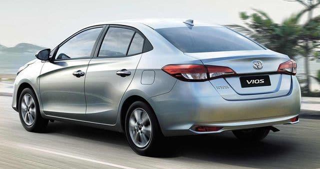 Toyota Vios 2019 thân xe - Tại sao Toyota Vios không thay đổi nhưng vẫn bán chạy trong nhiều năm? - Muaxegiatot.vn