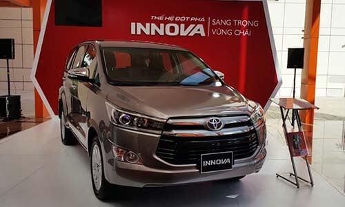 ngoai that xe innova 2018 - Hướng dẫn thủ tục mua xe Toyota Innova trả góp 2021 - Muaxegiatot.vn