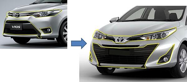 dau xe vios 2018 2019 muaxegiatot vn - Toyota Vios 2020 có gì mới? - Muaxegiatot.vn