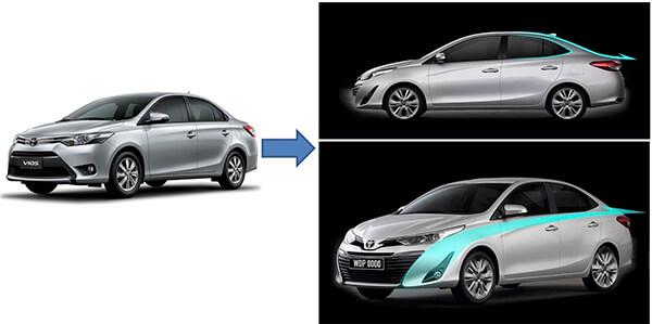 hong xe vios 2018 2019 muaxegiatot vn - Toyota Vios 2020 có gì mới? - Muaxegiatot.vn