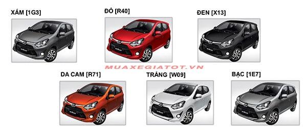 mau xe toyota wigo 2018 muaxegiatot vn - Toyota Wigo 2021: Giá lăn bánh, Khuyến mãi #1, Trả góp! - Muaxegiatot.vn