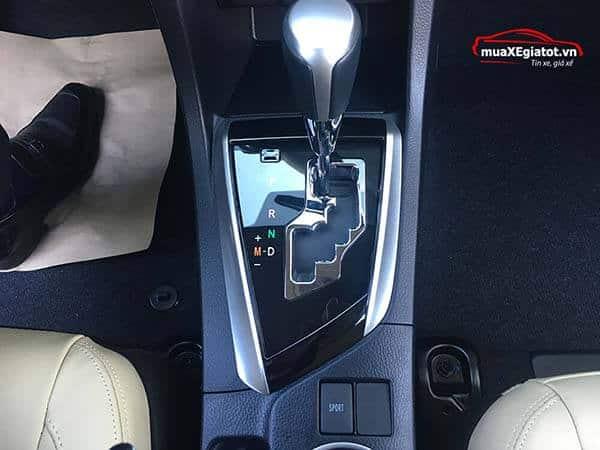 toyota altis 1 8 g cvt 2018 mau trang muaxegiatot vn hop so tu dong cvt - Toyota Corolla Altis 1.8G 2020 giá bán & khuyến mãi #1 - Muaxegiatot.vn