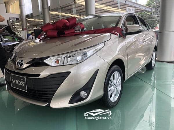 Giá xe Toyota Vios E CVT 2019 số tự động (mới)