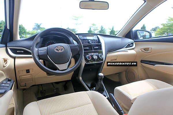 Toyota Vios E MT 2019 số sàn (Nội thất xe)