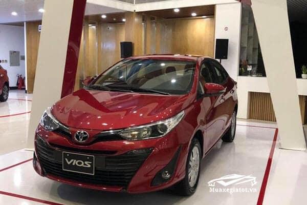 Toyota Vios 2018 màu đỏ (Màu mới)
