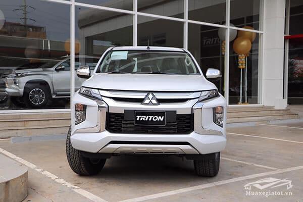 ngoại thất xe bán tải triton 2020