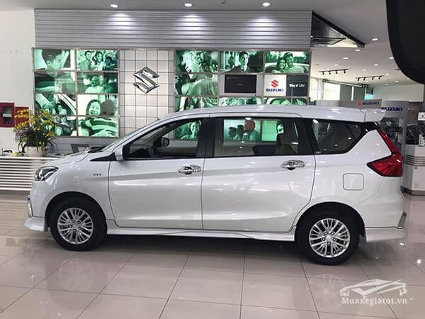 hong xe suzuki ertiga 2019 2020 mau trang muaxegiatot vn - So sánh xe 7 chỗ Ertiga 2020 và Xpander 2020 (2 bản cao cấp) - Muaxegiatot.vn