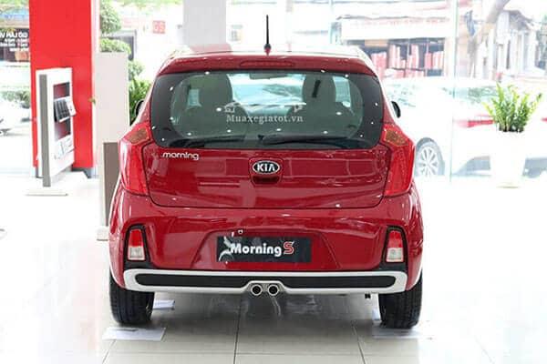 phan can sau cua kia morning s 2021 muaxegiare com - Chi tiết xe Kia Morning 2021 kèm giá bán khuyến mãi #1 - Muaxegiatot.vn