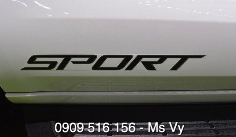 "logo xe ford everest sport 2021 mau trang moi nhat ford saigon net - Chi tiết Ford Everest Sport 2021 – mạnh mẽ, rất ""Sport"" - Muaxegiatot.vn"