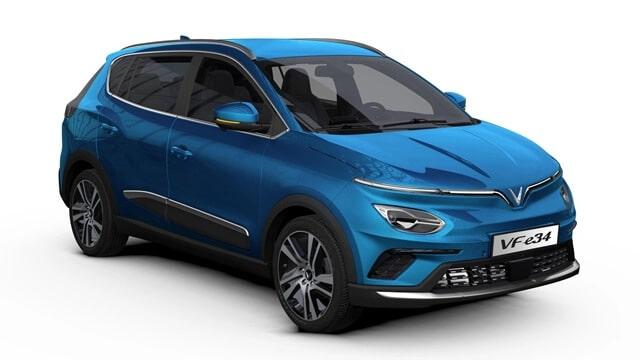 Vinfast VF e34 2021 2022 muaxegiatot vn - Đánh giá xe điện VinFast VF e34 2021: Nổi bật trong phân khúc SUV cỡ C - Muaxegiatot.vn