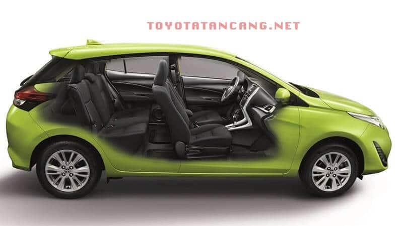 toyota yaris 2018 muaxegiatot vn 3 copy - Toyota Yaris 2021 nhập Thái có gì mới? - Muaxegiatot.vn